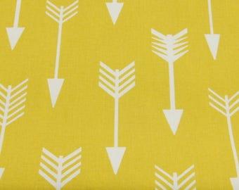 50cm of printed fabric 100% cotton geometric arrows - graphic print