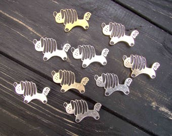 Dog Puppy badge Lapdog Party Favours Dog Birthday Favors Puppy Party Favor Vintage Collectible Metal Badge Pet brooch Hipster gift Puppy pin