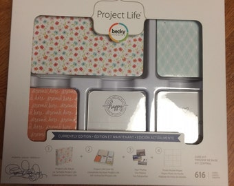 Becky Higgins Project Life 1/4  Partial Core Kit - CURRENTLY edition - 154 cards - New release