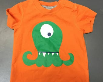 Green Monster Baby Shirt