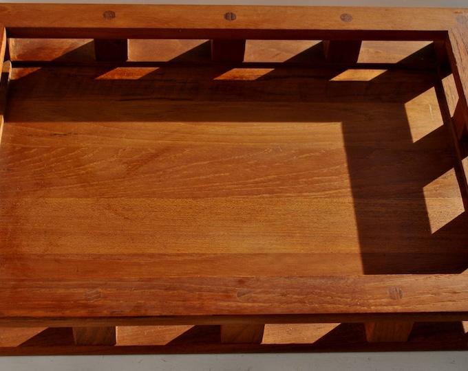 Dansk IHQ Denmark Teak Wood Serving Tray Breakfast Rare Jens Quistgaard
