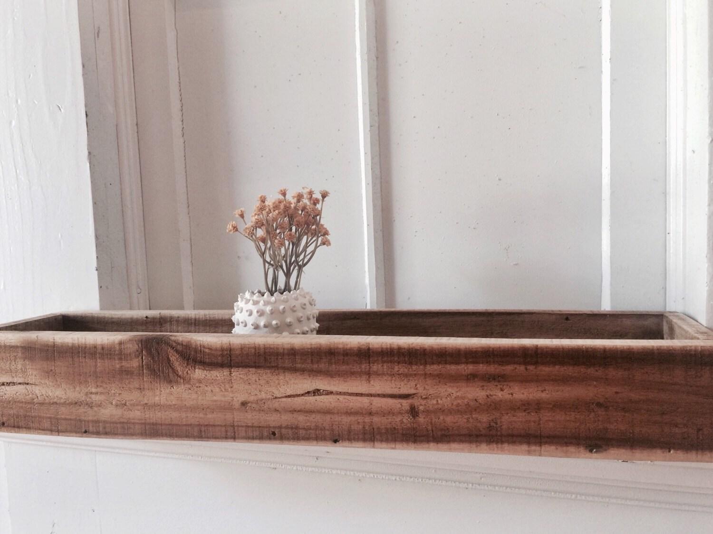 long wooden planter rectangle planter window sill planter. Black Bedroom Furniture Sets. Home Design Ideas