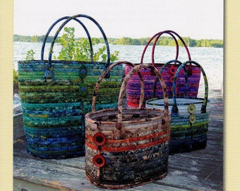Camden Bags by Aunties Two Patterns - Paper Printed Pattern