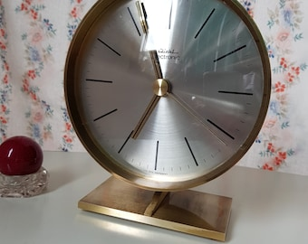 Vintage desk clock table clock Kienzle electronic 60ies