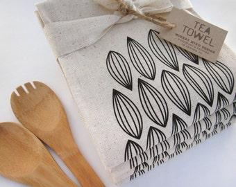 Modern Pods - Tea Towel - Screen Printed