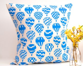 Cushion Air Balloon Print