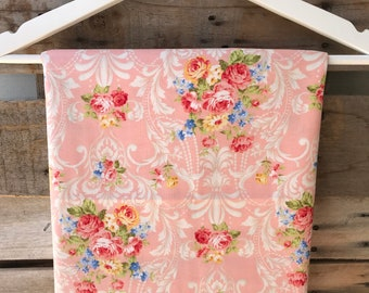 Peach with Antique Floral