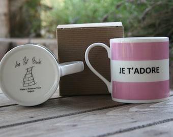 Je T'Adore Hoop Mug