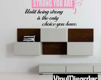 Cancer Survivor Vinyl Wall Decal Or Car Sticker Wall Quote