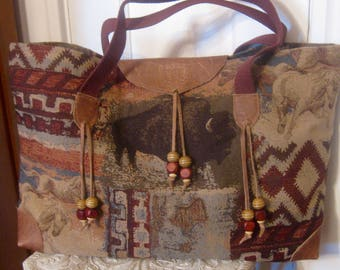 ON SALE/ Santa Fe Tote Bag