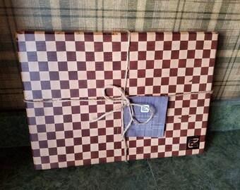 Mahogany/Maple Cutting Board