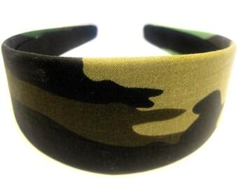 Camouflage Headband 2 Inch