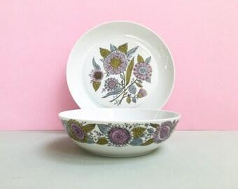 Bidasoa (Spain) bowl and plate set