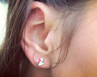 Fun Small Girls' Surgical Steel Earrings - Set of 5