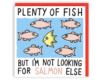Plenty of Fish Greeting Card