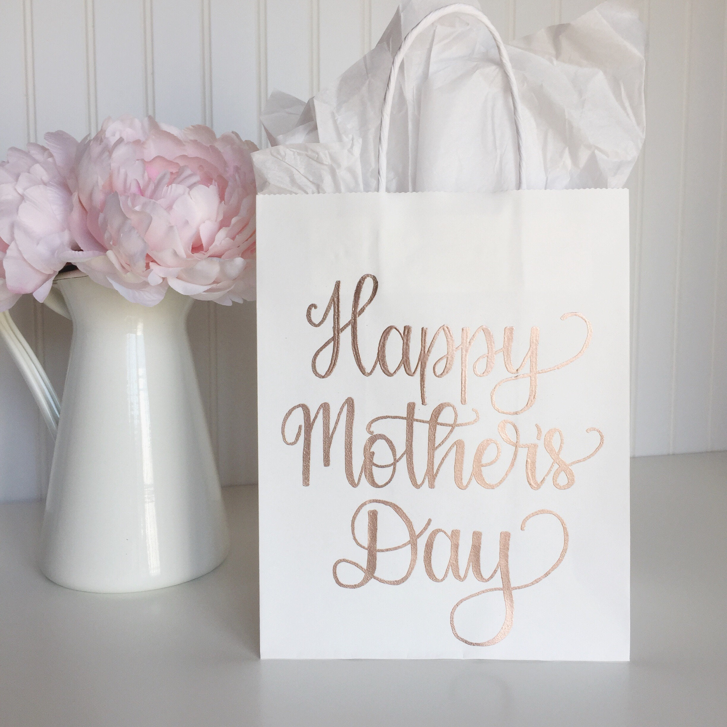 Happy Mother\'s Day Gift Bag, Mother\'s Day Brunch Favor Bag, Gift For ...