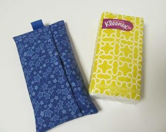Tissue Case/Blue Star