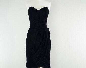 1960's Little Black Bombshell dress