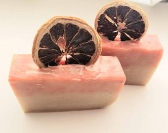 Cranberry Lemon Curd Soap