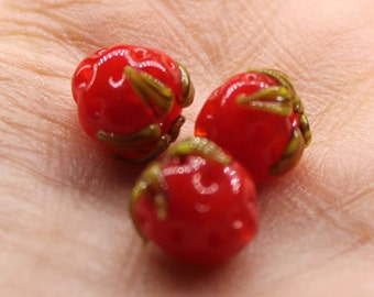 strawberry bead