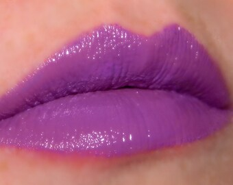 Bright Purple Lipstick POCKETFUL OF POSIES