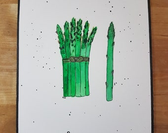 Spring vegetable: asparagus