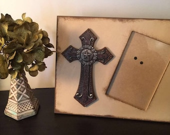 Western Cross Picture Frame