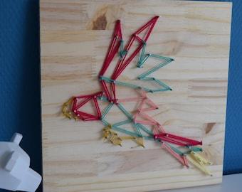 Parrot String Art / Parrot String Art