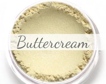 "Eyeshadow Sample - ""Buttercream"" - shimmery/frosty cream (Vegan) Mineral Makeup"