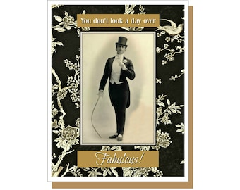 Male birthday cards etsy fabulous male funny male birthday card retro male birthday card vintage male birthday bookmarktalkfo Images
