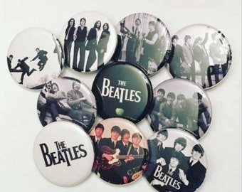 The Beatles Pinback Buttons