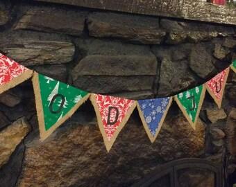 God Jul banner