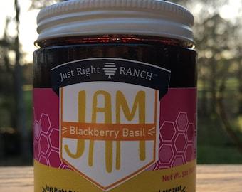 Blackberry Basil Jam