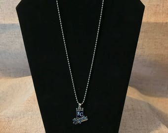Kansas City Baseball Necklace