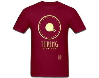 Alan Turing, Computer Programmer Shirt, Computer Science Gift, Computer Programming Gift, Computer Scientist, Gift for Geek, LGBT Geek Shirt