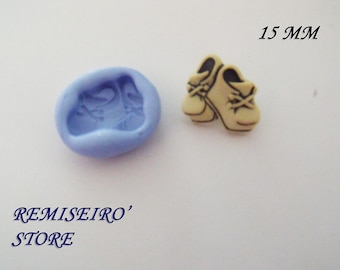 Mold little Bootie baby 1.5 cm silicone hand