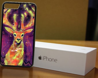 The Innocent Gaze - Illuminating Deer Phone Case for Apple iPhone & iTouch Devices