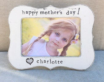 Mom gift Gift for Mommy Personalized picture frame Mom frame Mother's Day frame Mother's Day gift from child, happy Mother's Day gifts