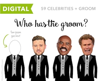 60 QTY – Who has the groom? – Digital