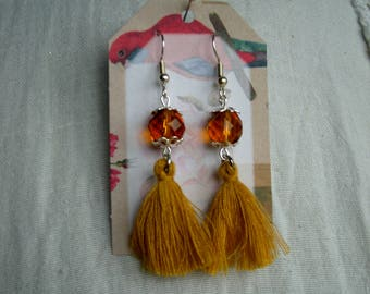 Earrings tassels 1