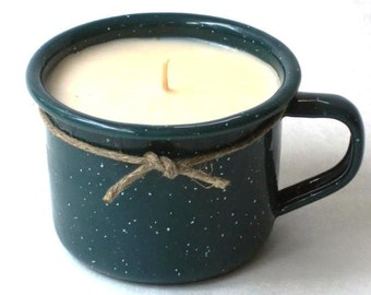 Espresso cup soy candle in fabulous fragrances