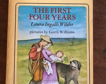 The First Four Years // Laura Ingalls Wilder // Harper Trophy Book
