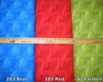 "Total Vineyard 108"" Wide Cotton Fabric Quilt Backings! 6 Color Options [Choose Your Cut Size]"