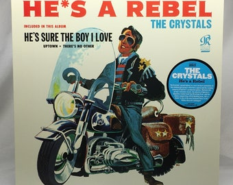 The Crystals - He's A Rebel - LP Vinyl Record Album - LP 5409 - Philles Records Label - RSD - Record Store Day 2012