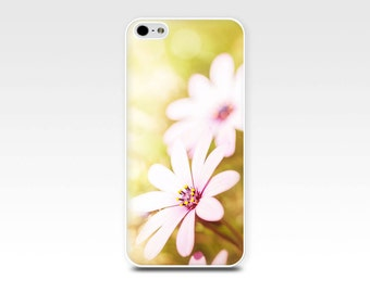 daisy iphone case 5s iphone 6 case floral iphone case 4s flowers iphone 4 case daisy iphone 5 case fine art lemon pink girly iphone case