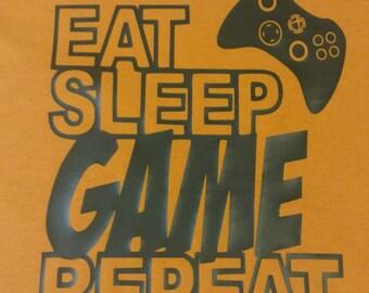 Childrens Eat, Sleep, Game shirt