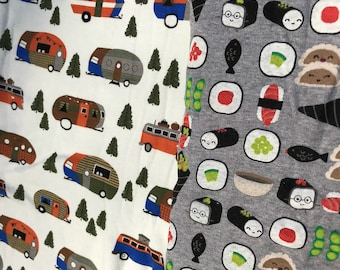 Campers or Sushi Dog Pajamas