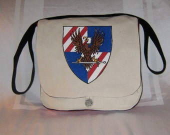 USA Knights Armered Combat Leauge Messenger Bag (cotton duck/cotton)