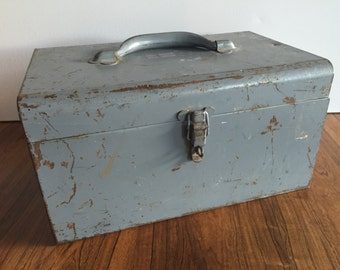Industrial Metal Tool Box