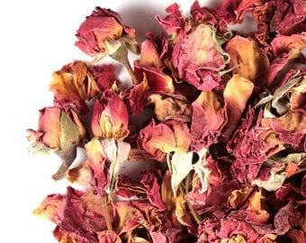 Organic Rose Buds and Petals/ Herbs
